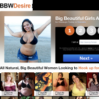 The Biggest BBW Hookup Sites Online - SoNaughty.com